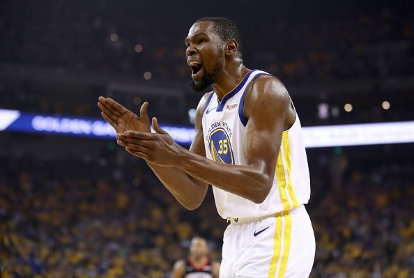 Kevin Durant looks set to miss Games 1 and 2 of the Finals