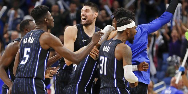 Orlando Magic jumped seven positions on the standings in just one year.