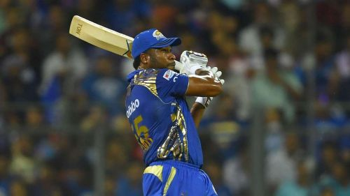 Pollard was at his all-round best against CSK in 2013 (Image courtesy: IPLT20/BCCI)