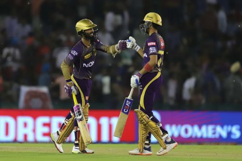 KKR won the game quite easily with 2 overs to spare. Image Courtesy: IPLT20/BCCI