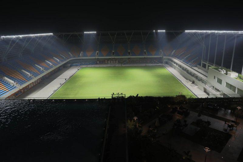 Indian Football: Ahmedabad's TransStadia Arena to host