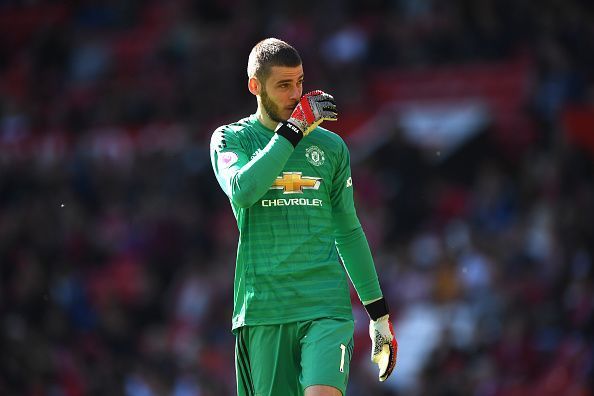 David De Gea could finally wave goodbye to Manchester United