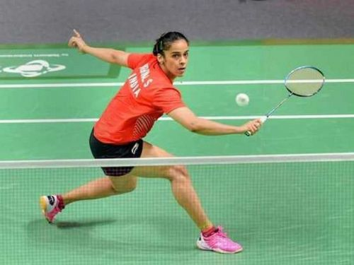 Saina Nehwal crashed out in the first round