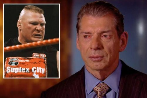 Vince McMahon will reset if he loses Brock Lesnar to AEW