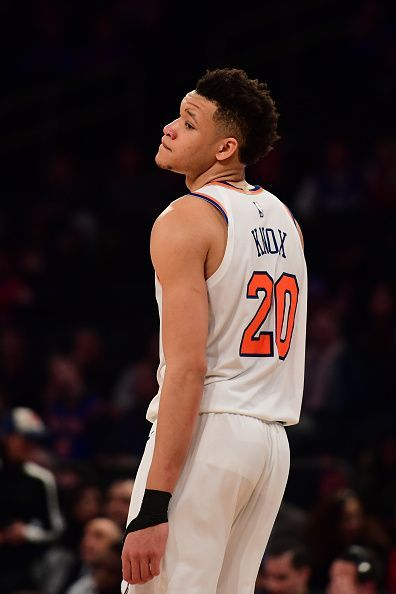 New York Knicks were overjoyed to land Knox in the 2018 NBA Draft