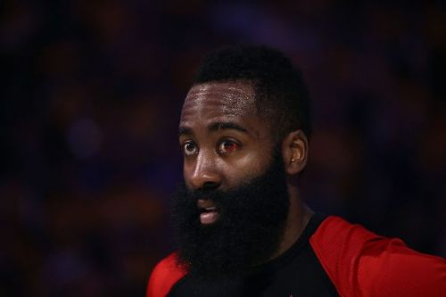 James Harden is averaging 31.3 points, 6.7 rebounds and 6.8 assists per game in the postseason