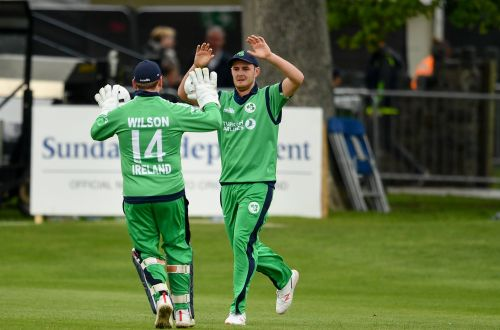 Mark Adair picks 3 wickets for Ireland