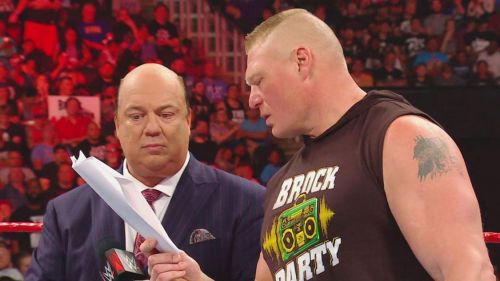 Brock Lesnar could face punishment Monday Night on Raw