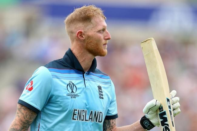 Ben Stokes was awarded the