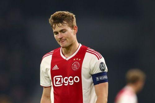 Matthijs de Ligt is close to finalising a move Barcelona