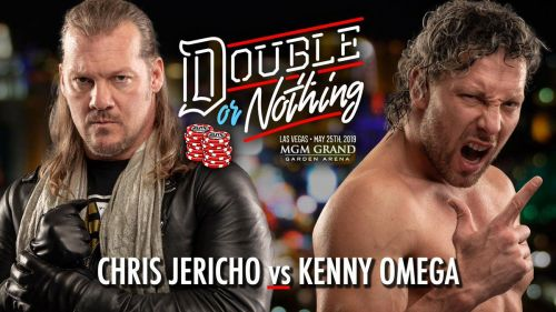 Chris Jericho v/s Kenny Omega at AEW's Double Or Nothing pay-per-view