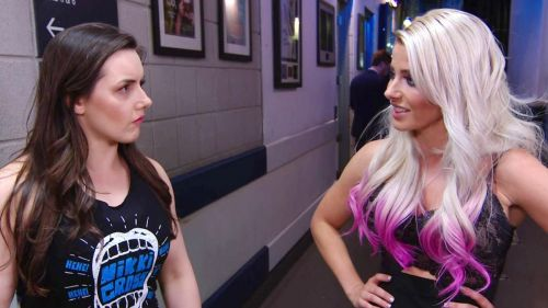 Nikki Cross and Alexa Bliss are now seemingly friends on Raw
