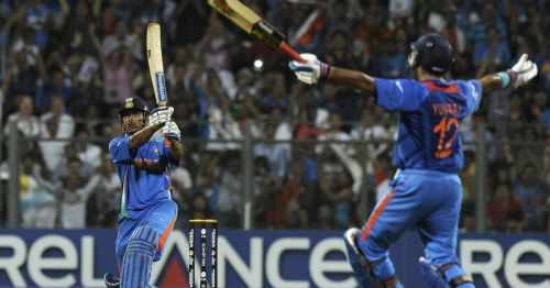 MS Dhoni's winning six in 2011 World cup
