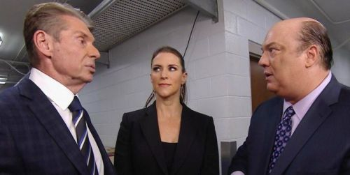 Vince and Paul backstage