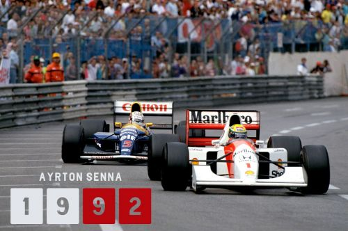 A lucky but much-deserved win followed in 1992