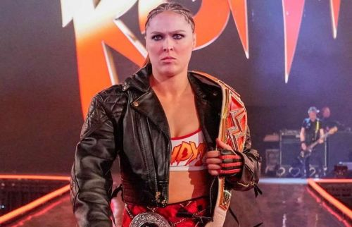 Image result for ronda rousey wrestlemania 35