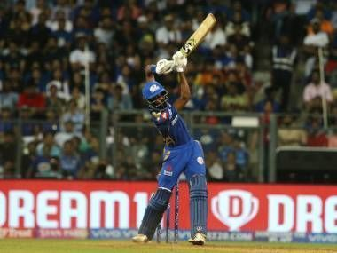 Hardik Pandya showed that he too has the helicopter shot in his arsenal (picture courtesy: BCCI/iplt20.com)