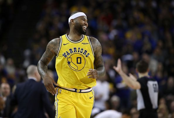 DeMarcus Cousins may be set for a shock return to the playoffs