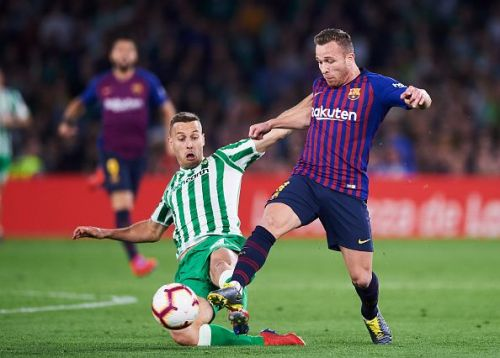 The heir to Xavi Hernandez, Arthur has enjoyed an excellent debut campaign at Barca this term