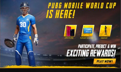 World Cup Event Of PUBG Mobile