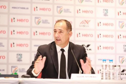 Igor Stimac addressed the media for the first time as the new head coach of the Indian football team