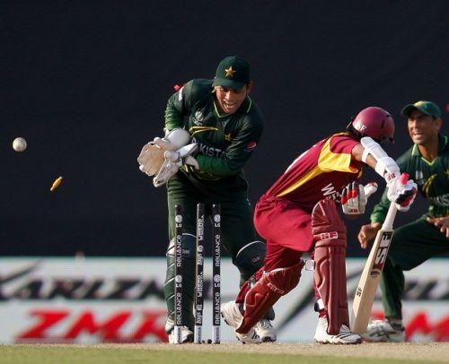 West Indies v Pakistan: 2011 World Cup quarterfinal.