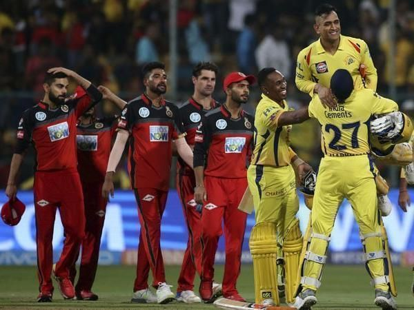 CSK and RCB - Image Courtesy ( BCCI/IPLT20.com)
