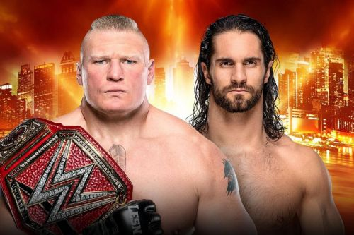 According to rumors, the original plan was to have Seth Rollins defend his Universal Championship against Brock Lesnar