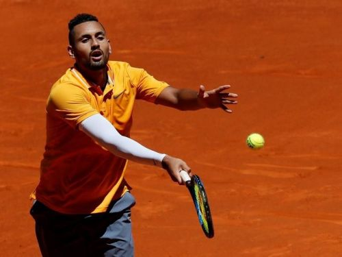 Nick Kyrgios at the recently concluded Madrid Open