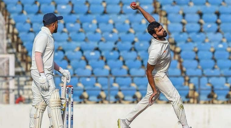 Sarwate bagged 11 wickets in the 2018-19 Ranji Trophy Final