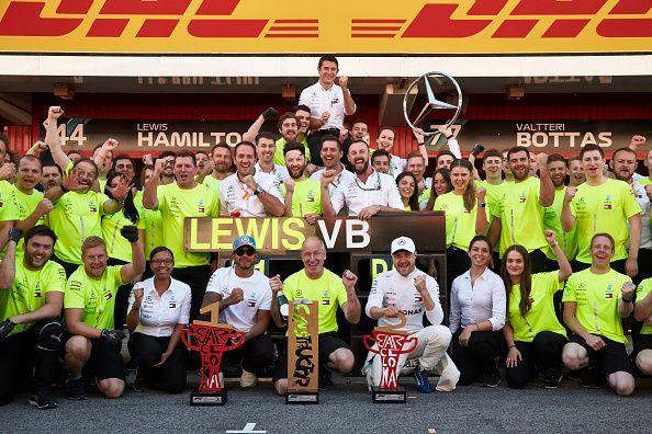 Mercedes F1 Team - 2019 Spanish GP