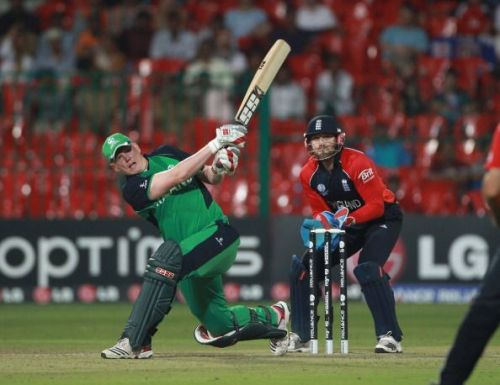 Kevin O'Brien stunned England with the fastest hundred in the World Cup