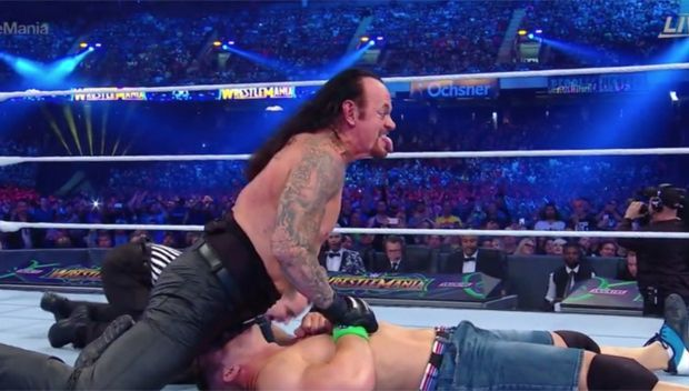 The Dream Match Between Undertaker and Cena turned out to be a huge disappointment