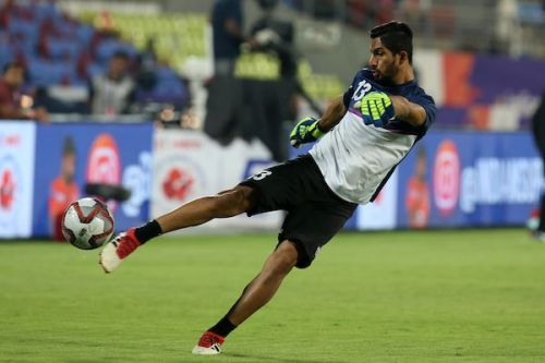 Vishal Kaith hopes to develop as a goalkeeper under Igor Stimac