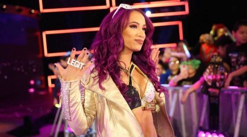 Sasha Banks has been in the headlines for a while now