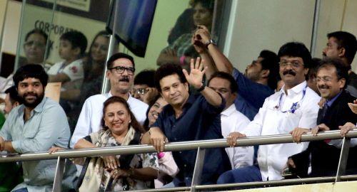 T20 Mumbai's Brand Ambassador - Sachin Tendulkar