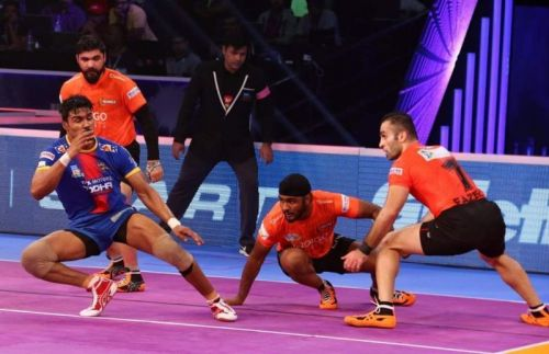 U Mumba collected 289 tackle points in season six