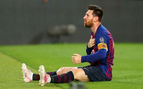 Messi put in a spectacular show against Liverpool in the Champions League this week