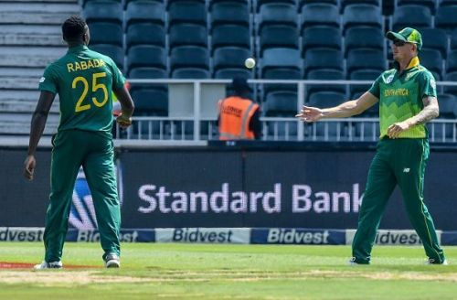 Dale Steyn and Kagiso Rabada will lead South Africa's potent pace attack in England