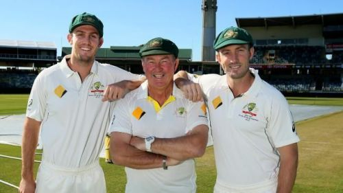 The Marsh Family with Geoff Marsh at the center