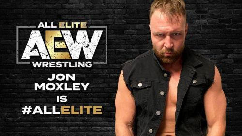 Jon Moxley is with the elite