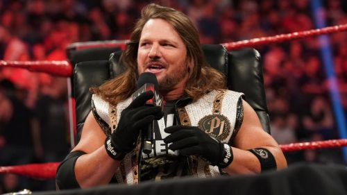 What does AJ Styles think of AEW?