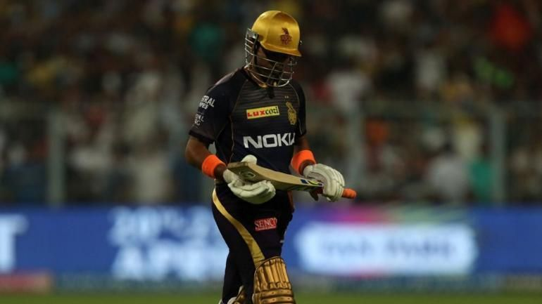 Uthappa found it difficult to get going in IPL 2019 (Picture courtesy: iplt20.com/BCCI)