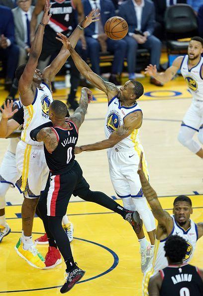 Portland Trail Blazers v Golden State Warriors - The Warriors did a great job against Damian Lillard