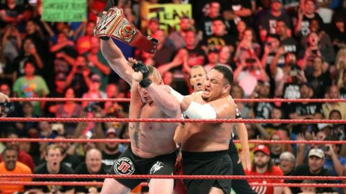 WWE has toyed with heel vs. heel matches like Samoa Joe vs. Brock Lesnar in the past. What if they book more?