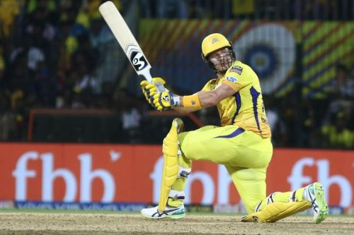 Shane Watson has been very poor for CSK this season.