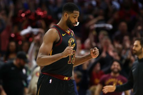 Tristan Thompson was averaging career-high numbers when the season started