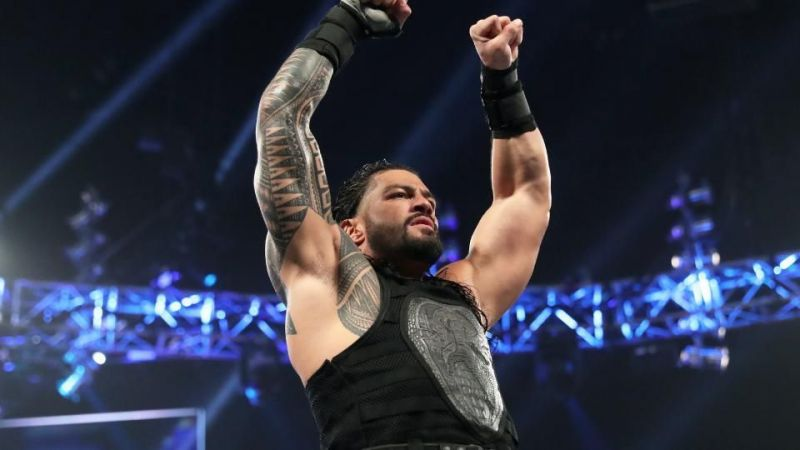 The most logical finish is Reigns walking out with a clean win.