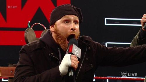 Sami Zayn shocked the WWE Universe when he mentioned AEW