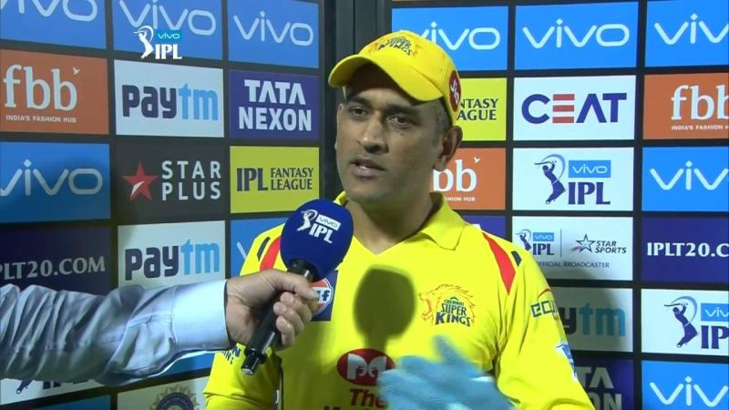 MS Dhoni - Image Courtesy (BCCI/IPLT20.com)